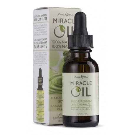 Daugiafukcinis kūno odos aliejus Earthly Body Miracle Oil 100 % Natural, 30 ml