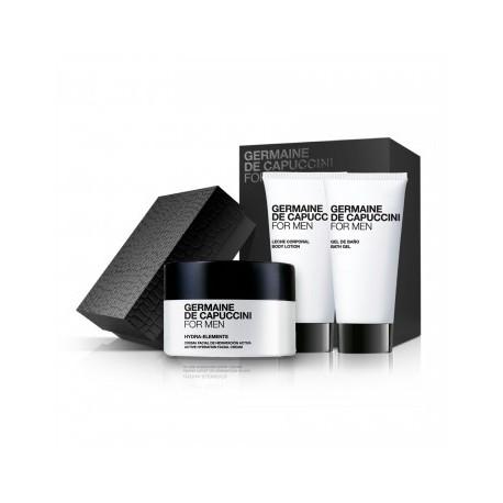 FOR MEN rinkinys normalios ir sausos odos drėkinimui HYDRATION